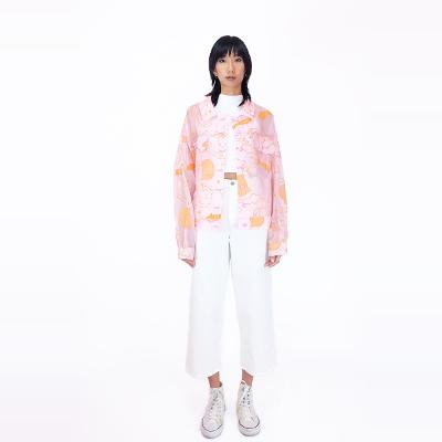 Embroidery Jacket pINK